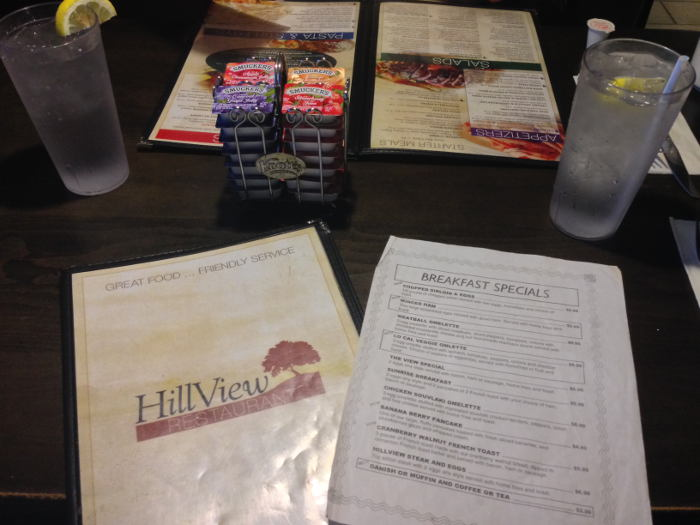 Hillview Restaurant, Step Out Buffalo