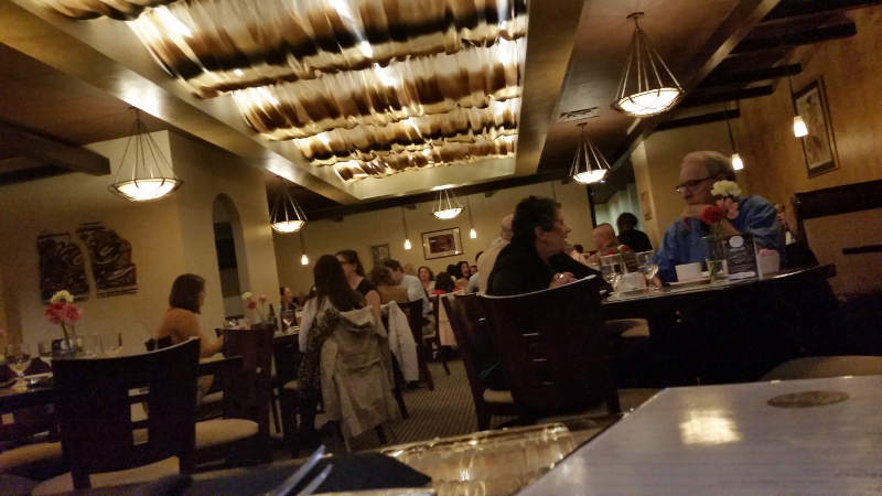 Fiero Mediterranean Fusion, dining
