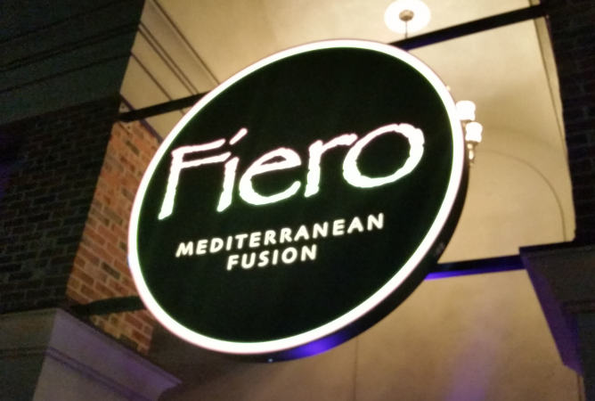 Fiero Mediterranean Fusion, sign