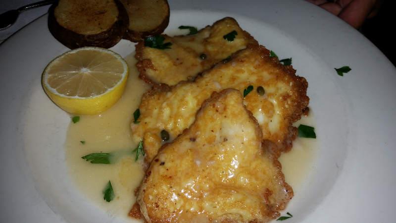 Sinatra's_Restaurant, Dining, Buffalo, Italian, halibut