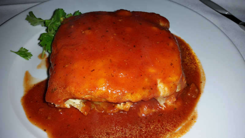 Sinatra's_Restaurant, Dining, Buffalo, Italian, Lasagna