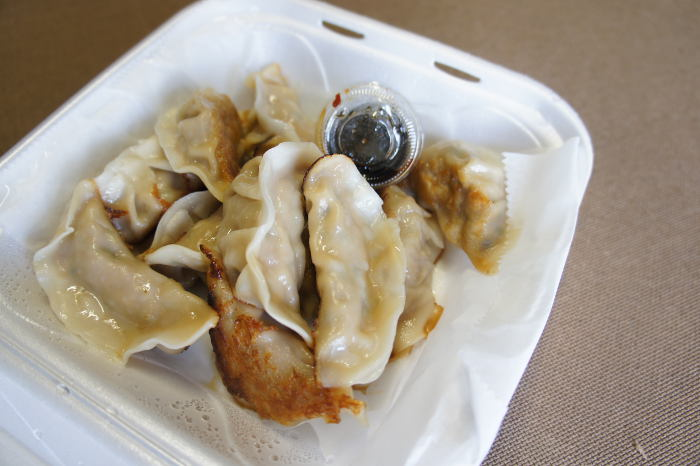 Dumplings from the Chinese Dumpling House, Step Out Buffalo