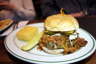 Picnic Burger at Essex Street Pub, Buffalo Restaurants