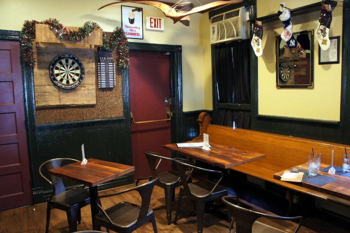 dining area atat Essex Street Pub, Buffalo Restaurants