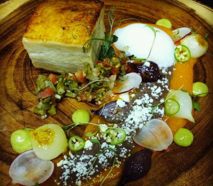 Photo from Chef Victor Parra Gonzalez's Instagram