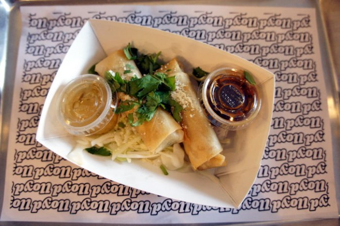 Mexicali Spring Rolls
