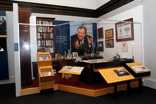 INSIDE TIM RUSSERT'S OFFICE