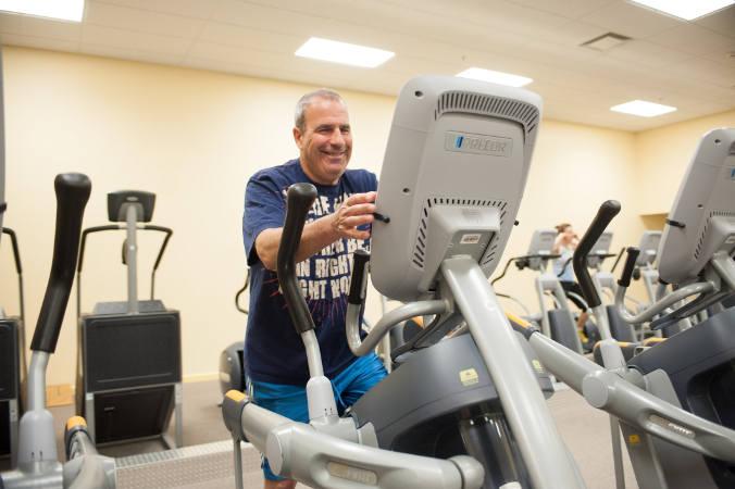Jewish Community Center in Buffalo treadmill