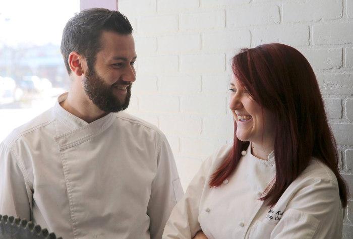 Executive Chef Scott Kollig and Pastry Chef Monica Kollig