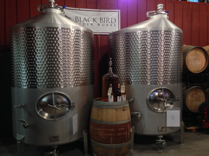 BlackBird Cider Production