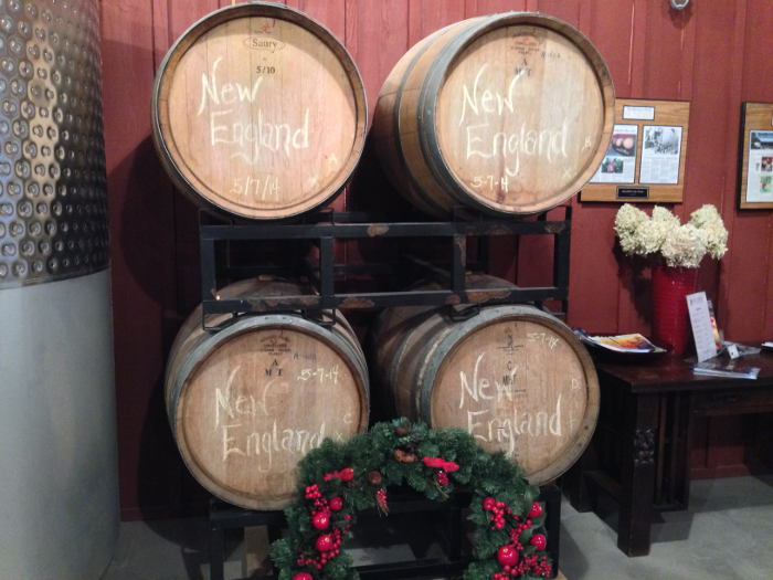 Barrels of BlackBird Cider