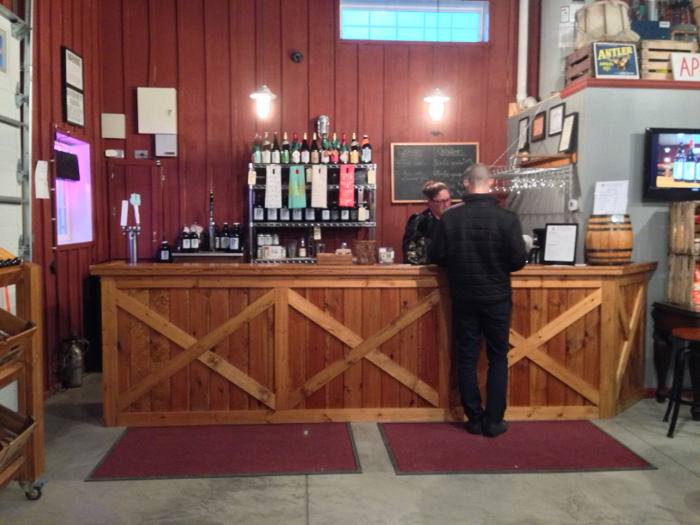 The BlackBird Cider Tasting Room