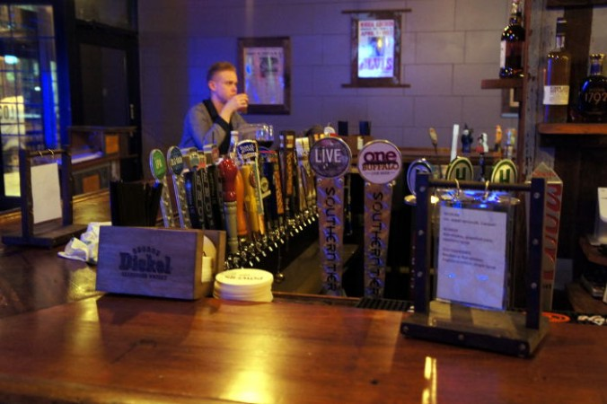 taps at Local Kitchen at Beer Bar