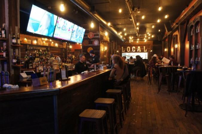 Bar at Local Kitchen and Beer Bar