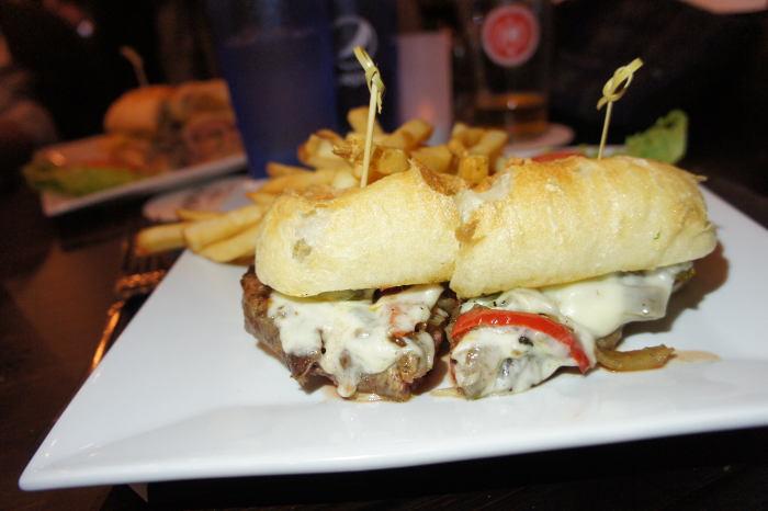Local Steak Sandwich / Step Out Buffalo