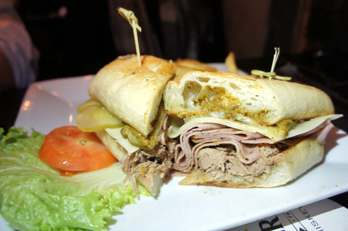 Cuban Torta at Local Kitchen and beer bar