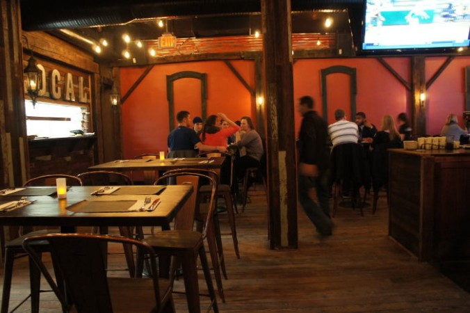Dining room at Local Kitchen and Beer Bar