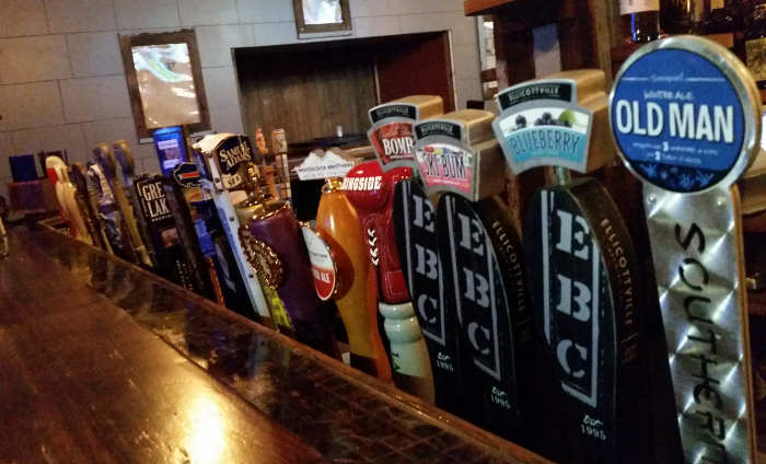 Local Kitchen and beer bar restaurant taps in Buffalo NY