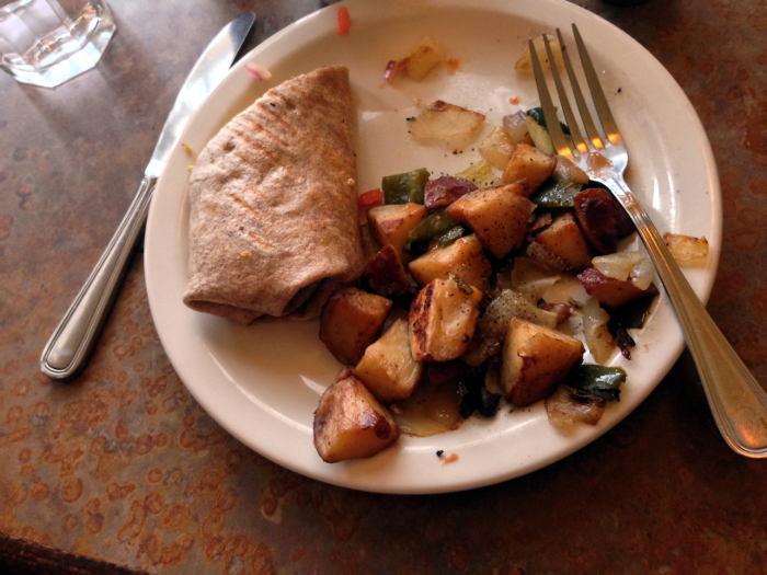 Breakfast Burrito at Merge