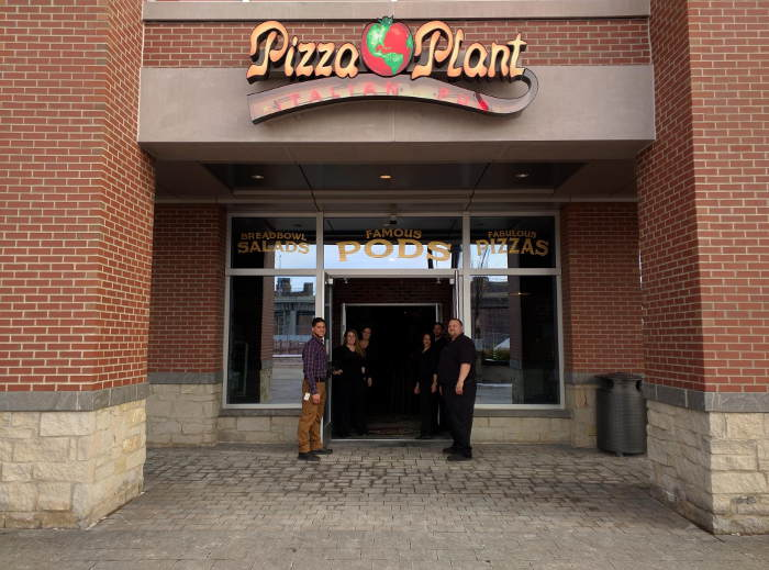 Pizza Plant Brings Pods to Canalside