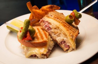 Reuben Sandwich from The Lodge