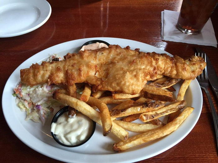 The Irishman's Fish Fry