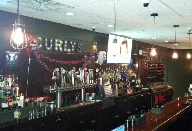 Curly's bar