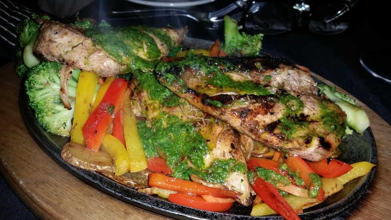 Skillet Chicken Dinner