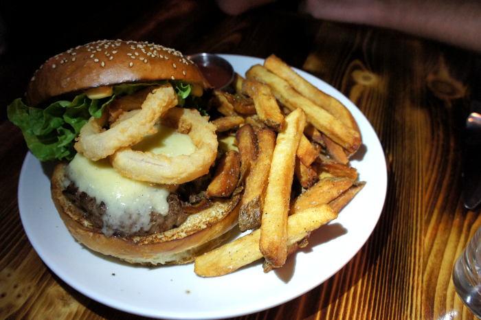 M + R Burger at Marble + Rye