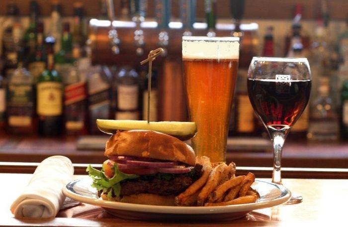 The Roycroft Inn Burger