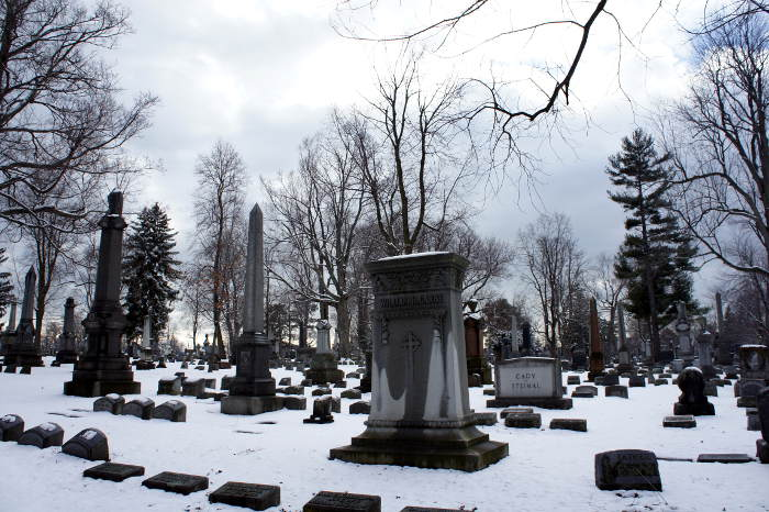 Forest Lawn Cemetery in Buffalo