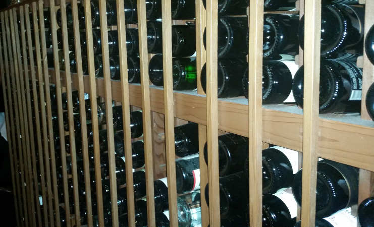 Wine Room at San Marco