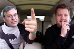 Terry Pegula on Carpool Karaoke