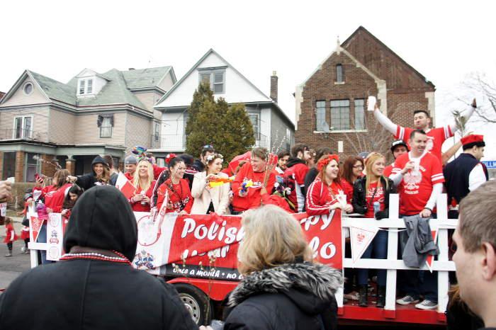 Dyngus Day Parade in Buffalo NY