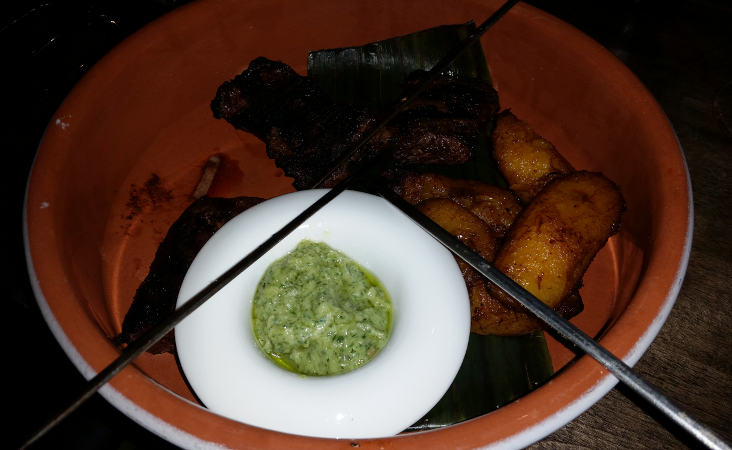 Churrasco Skewers with Chimichurri Sauce