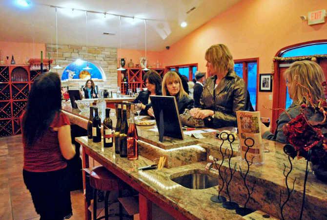 Spring Llake Winery store