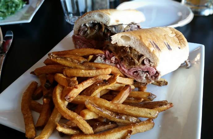 Tavern 414- prime rib sandwich