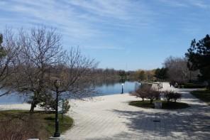 Hoyt Lake Delaware park Buffalo
