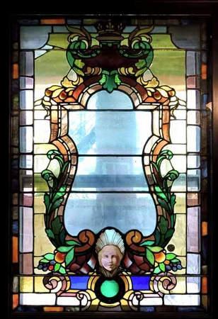 Innbuffalo Off Elmwood stained glass windows