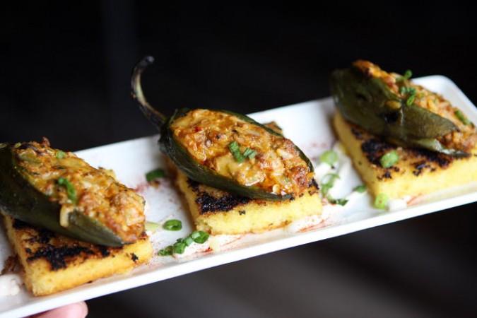 Chorizo Stuffed Jalapeños  at The Mahony / Photo by Machelle Pohlman