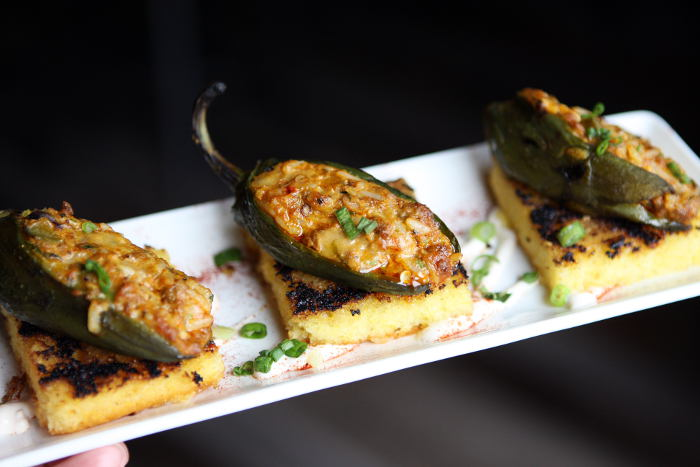 Chorizo Stuffed Jalapeños  at The Mahony / Photo by Machelle Pohlman