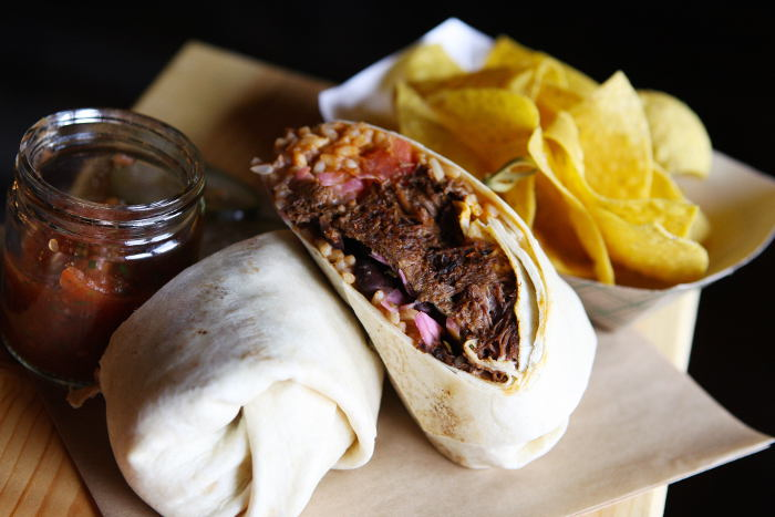 Beef Burrito / Photo by Machelle Pohlman