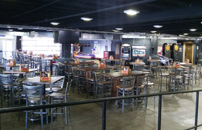 Buffalo RiverWorks dining