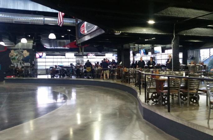 Buffalo RiverWorks bar