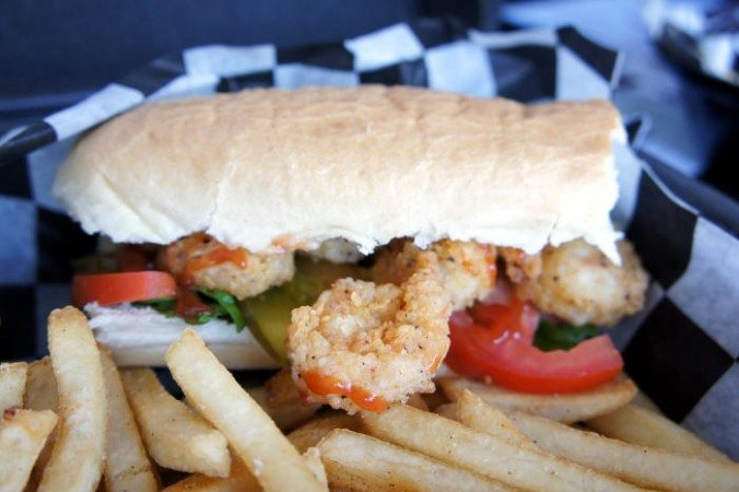 "6"" Shrimp Po Boy"