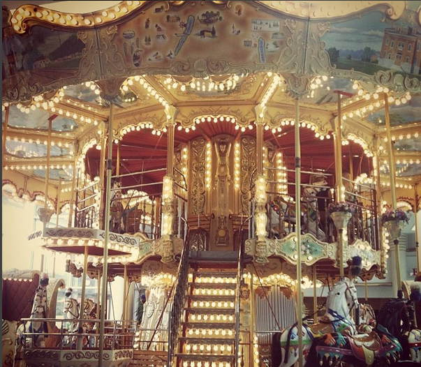 Eastview Mall, Rochester NY, Carousel