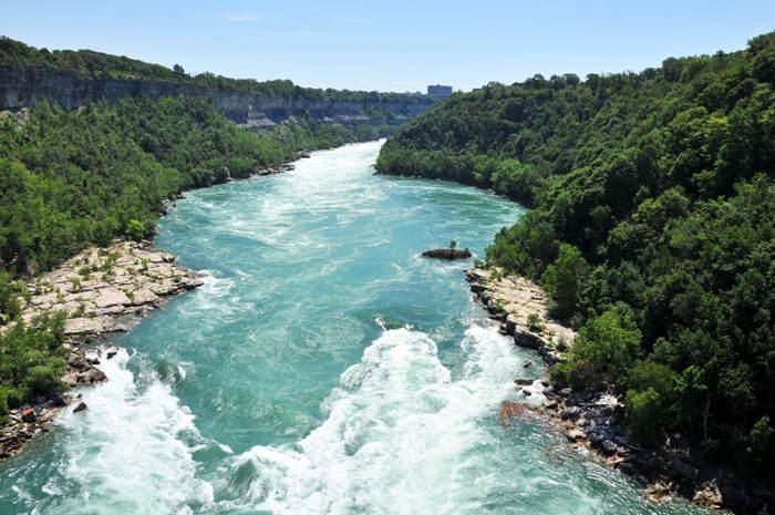 Niagara Gorge Trail, adventure and a beer, hikes near buffalo ny