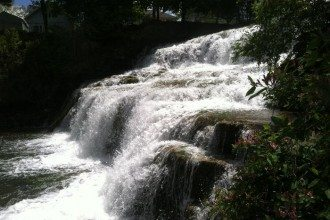 glen falls, waterfalls near buffalo ny