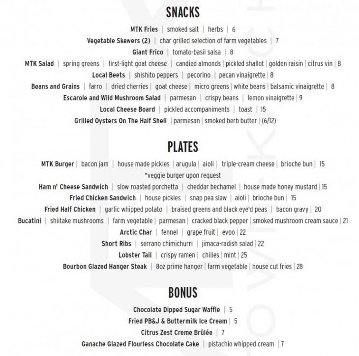 MTK-menu