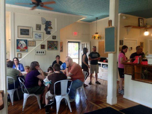 Breadhive Café / Step Out Buffalo